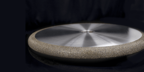 Borazon electroplated grinding wheel
