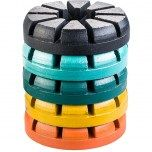 Polar Magnetic System Ten S Grinding Disc Grit Colors